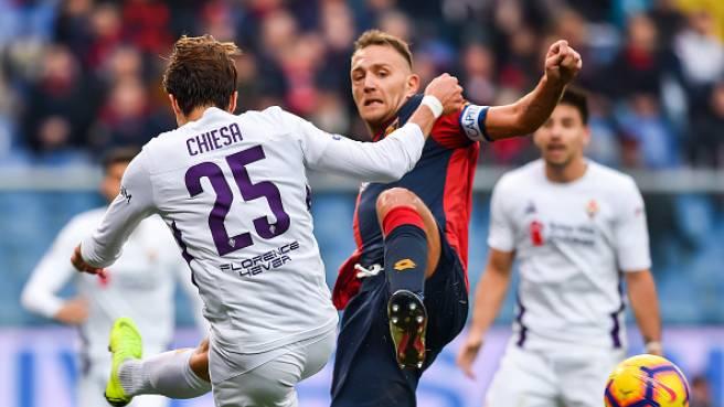 Fiorentina – Genoa   Dove vedere l'anticipo delle 18 di sabato 25 gennaio in diretta e streaming