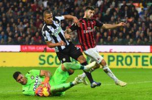 Milan – Udinese | Dove vedere l'anticipo delle 12 | 30 di domenica 19 gennaio in diretta e
