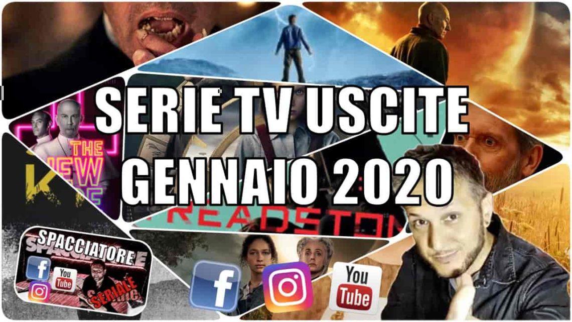 Le principali serie Tv in uscita a Gennaio 2020 – VIDEO