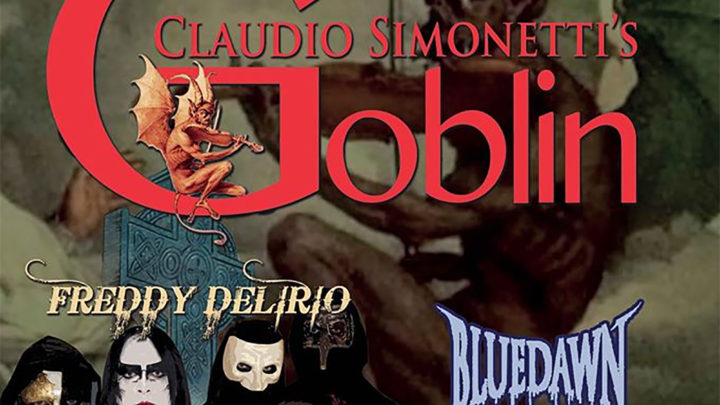 Claudio Simonetti's Goblin incantano Genova con Freddy Delirio e i Blue Dawn