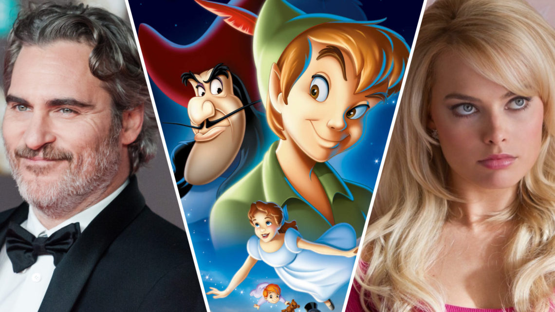 Joker e Harley sono Peter e Wendy: il nuovo film con Phoenix e Robbie