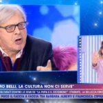 """Barbara d'Urso e Vittorio Sgarbi litigano a Live-Non è la d'Urso: """"Vai via"""""""