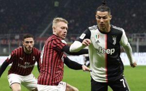 Ascolti TV primetime    giovedì 13 febbraio 2020    Milan-Juventus al 30 8%    Allied al 9 1%