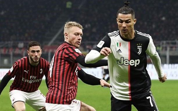 Ascolti TV primetime, giovedì 13 febbraio 2020: Milan-Juventus al 30.8%, Allied al 9.1%