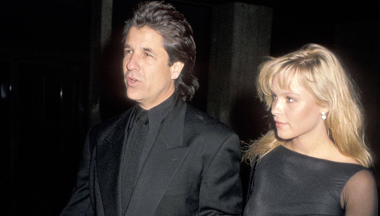 Pamela Anderson e Jon Peters negli anni 80