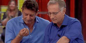 Paolo Bonolis e Luca Laurenti, lite sul palco di Avanti un A