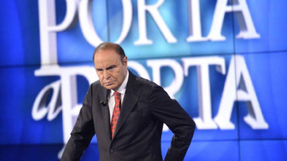 Bruno Vespa su tutte le furie: Rai sospende Porta a Porta per il Coronavirus