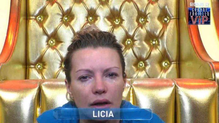 """Licia Nunez in lacrime al Grande Fratello Vip, la fidanzata sbotta: """"È uno schifo…"""""""
