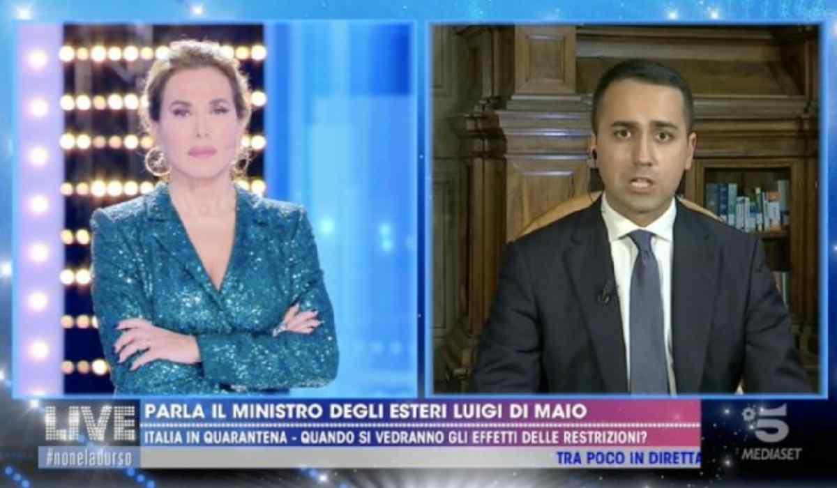 Luigi Di Maio Live-Non è la d'Urso