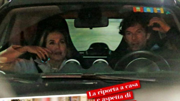 Barbara D'Urso paparazzata a cena con un ex: ritorno di fiamma per la conduttrice?