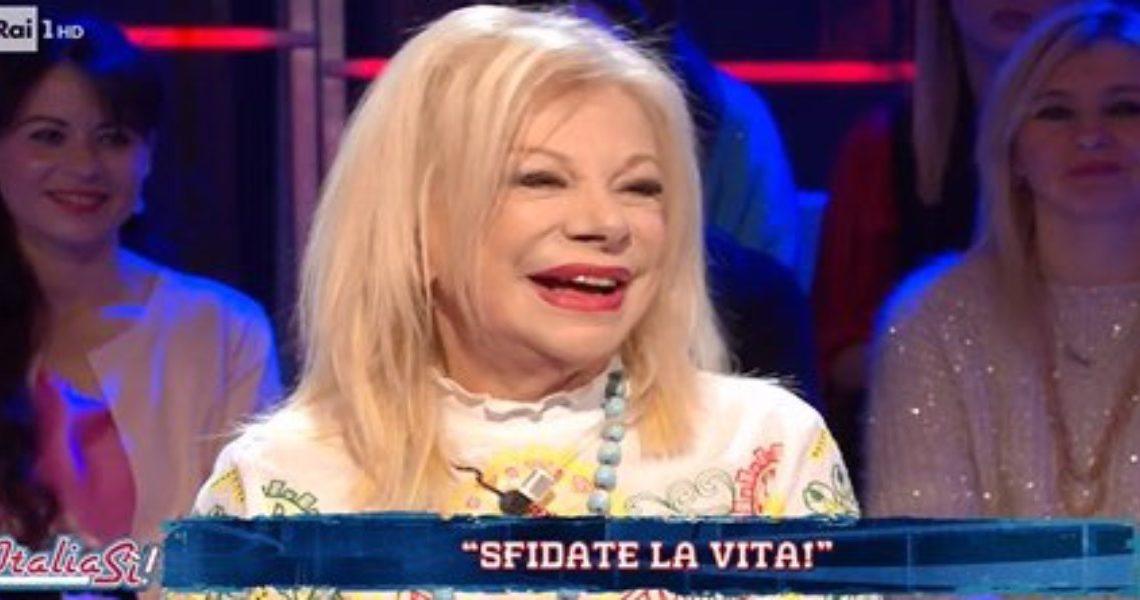 Italia Sì, la caduta di Sandra Milo e la sua epica risposta – VIDEO