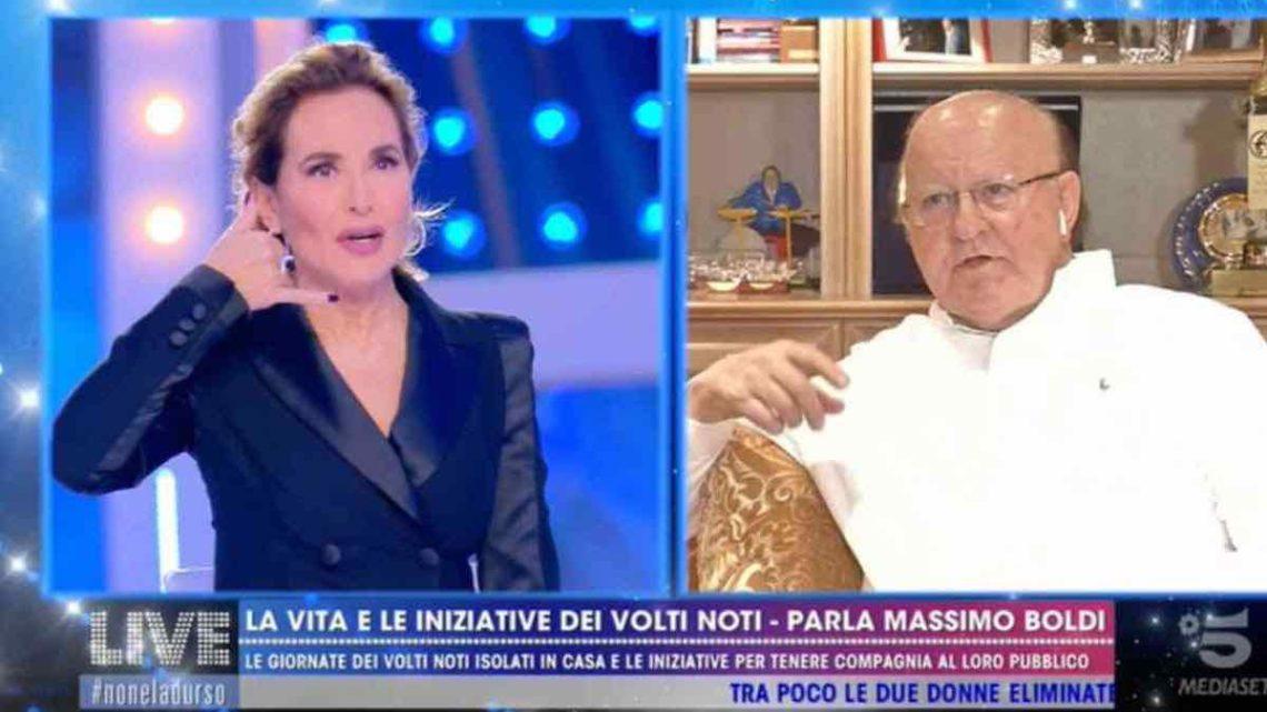 Barbara d'Urso e Massimo Boldi hanno visto gli ufo: la rivelazione choc dell'attore