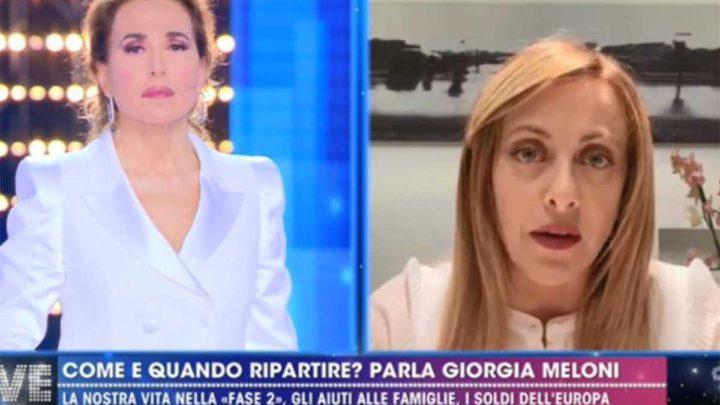 """Giorgia Meloni risponde a Conte: """"É un gioco irresponsabile al quale non mi voglio prestare"""""""
