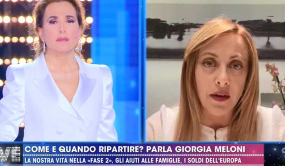 Giorgia Meloni replica a Conte