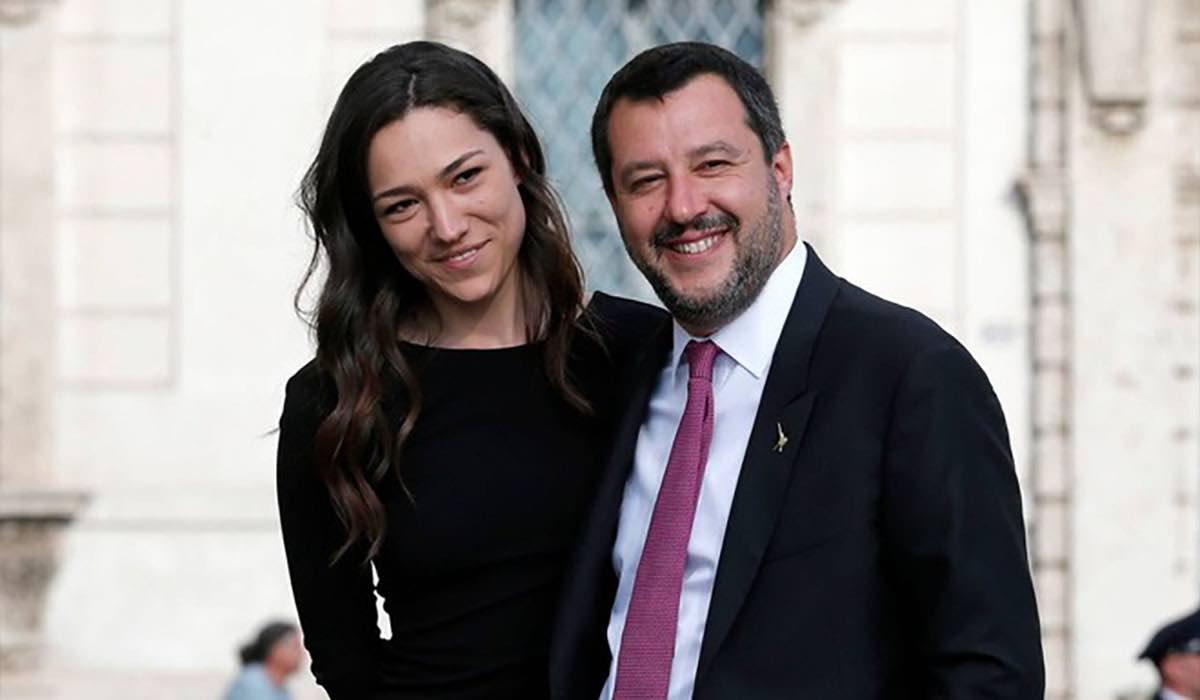 Salvini e Francesca Verdini