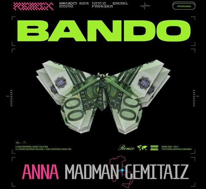Fuori Bando remix con MadMan e Gemitaiz – VIDEO e TESTO