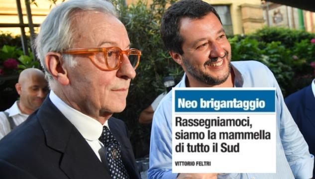 """Vittorio Feltri contro il Sud: """"Penso che siano inferiori. Lavorare di più sarebbe opportuno"""""""
