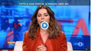 """Alba Parietti interviene a Stasera Italia: """"Faremo fatica a"""