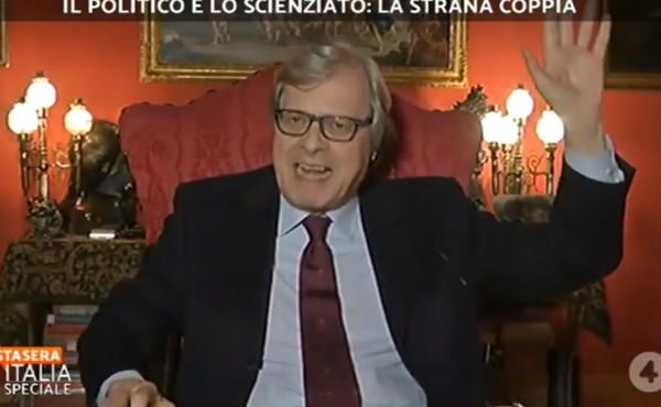 """Coronavirus, Sgarbi contro Ricciardi: """"Sia maledetto. Non possiamo vivere nell'incubo costante"""""""