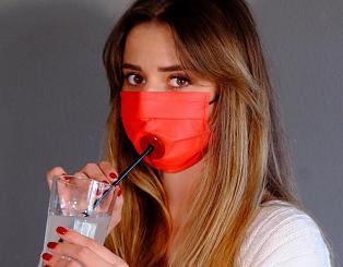 Drinksafe: adesso puoi bere il tuo drink senza togliere la mascherina