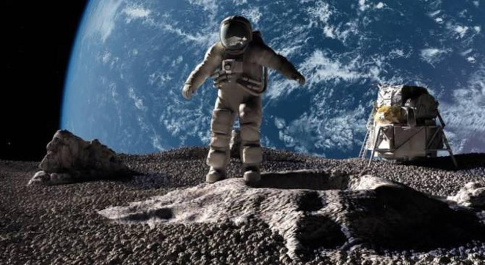 Cemento lunare grazie dell'urina degli astronauti: la strana scoperta