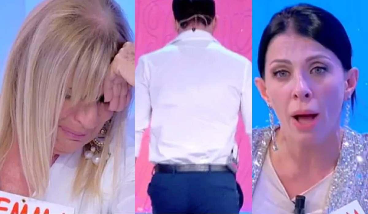 Uomini e Donne, Gemma e Valentina litigano Sirus va via