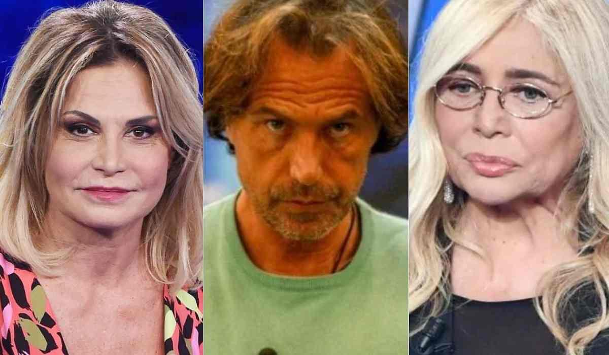 Antonio Zequila, Mara Venier e Simona Ventura