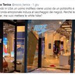 """Rocco Tanica su Twitter: """"Perché le black lives matter, ma vuoi mettere le white Nike?"""" Infuria la polemica"""