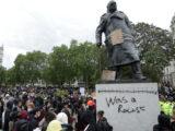 Churchill statua
