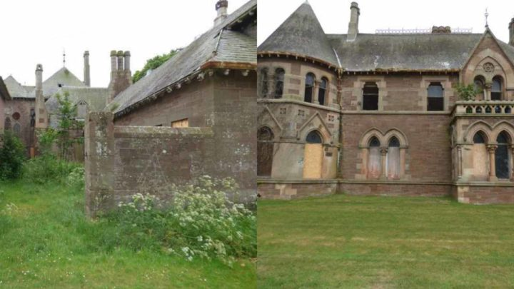 Scozia, villa francese in stile gotico in vendita a 1£: vi spieghiamo perché il prezzo è così basso
