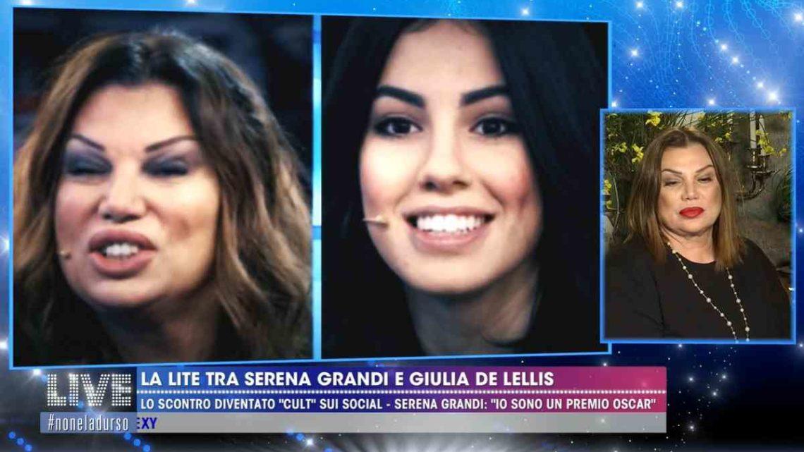 Serena Grandi torna ad attaccare Giulia De Lellis: ecco cosa ha detto l'attrice