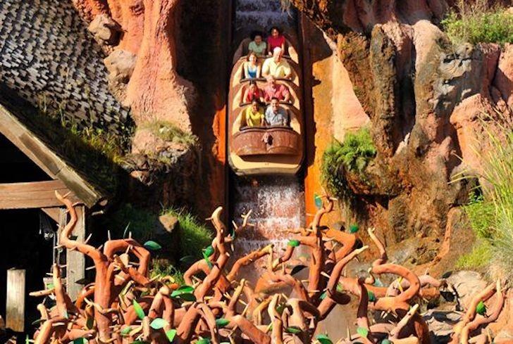 Splash Mountain Disney