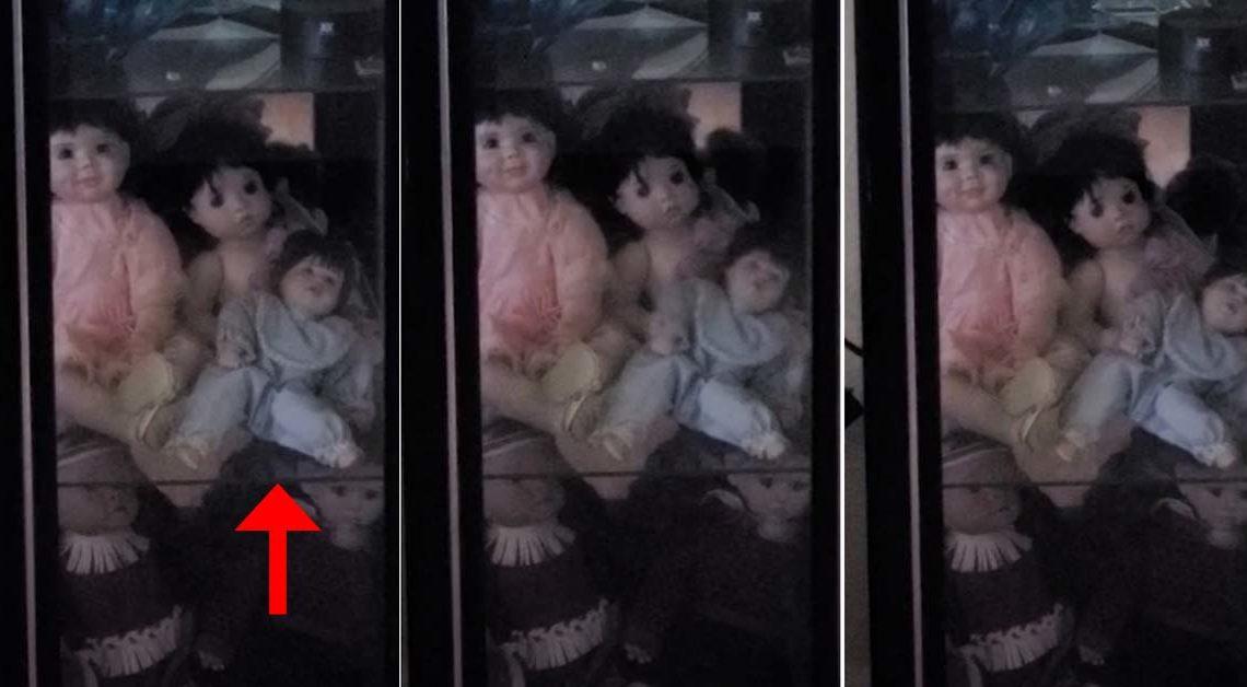 Bambola posseduta si muove sola: uomo terrorizzato la filma – VIDEO