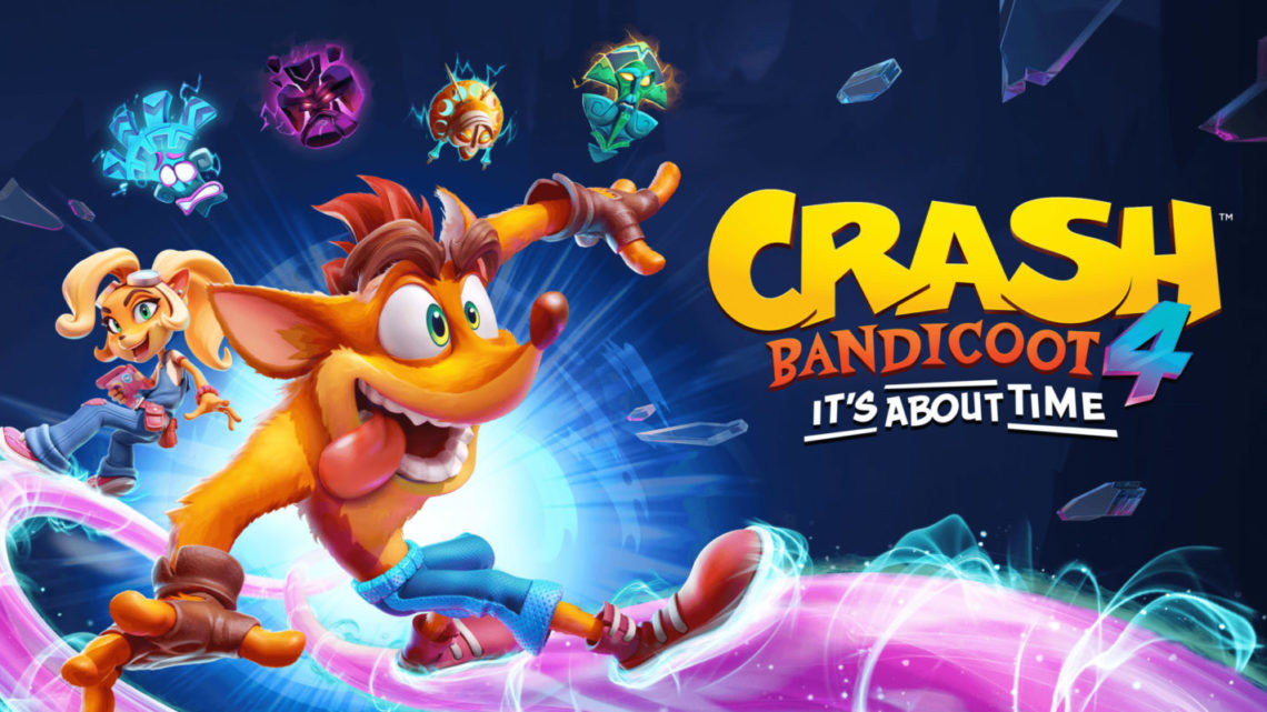 Crash Bandicoot 4: It's About Time, in arrivo su PlayStation 4 e Xbox One – VIDEO