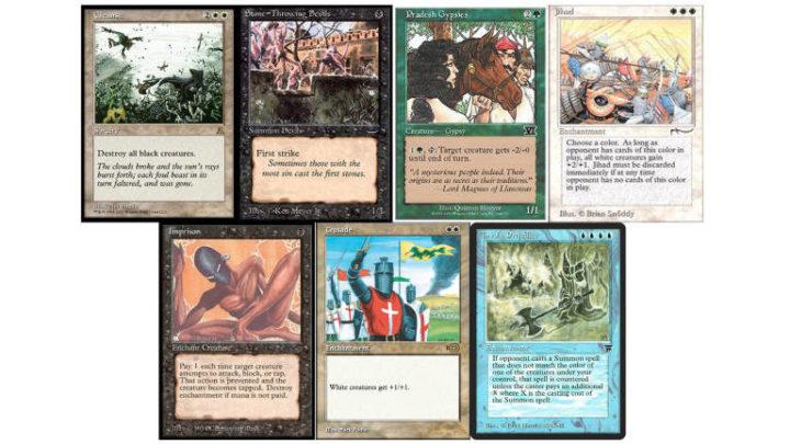 Magic The Gathering: bandite le carte ritenute razziste