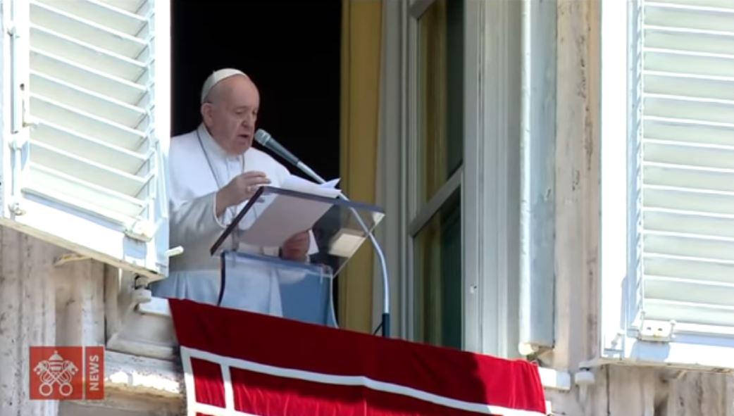 Domenica 21 giugno 2020, il vangelo del giorno e le parole del Papa durante l'Angelus