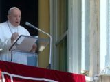 Papa Francesco durante l'Angelus del 28 giugno