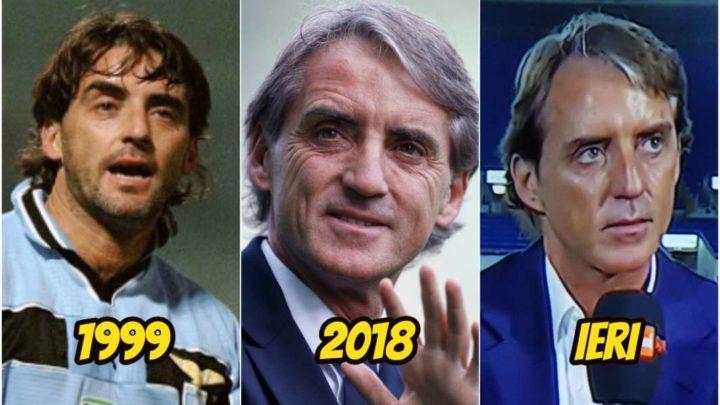 Roberto Mancini è rifatto? La comparazione fotografica di Dagospia