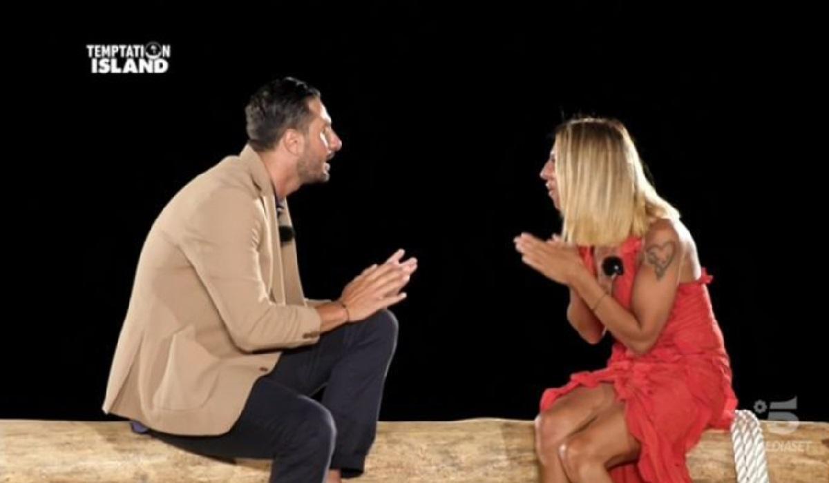Annamaria e Antonio, falò di confronto