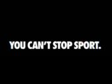 Can't stop sport