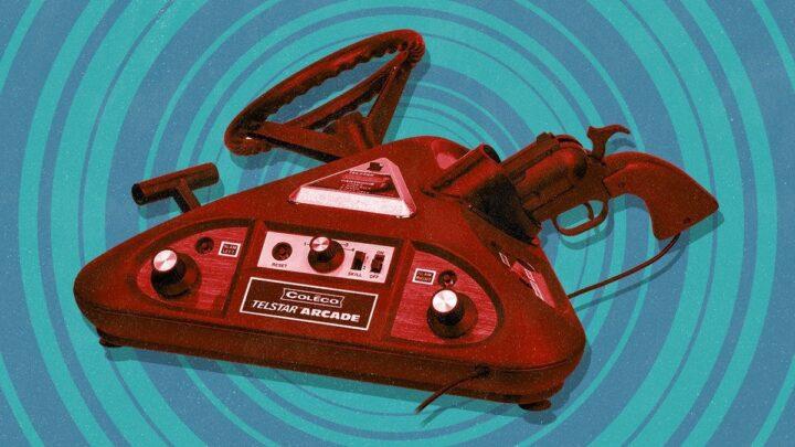 Coleco Telstar Arcade, ecco la console più stravagante di sempre mai creata