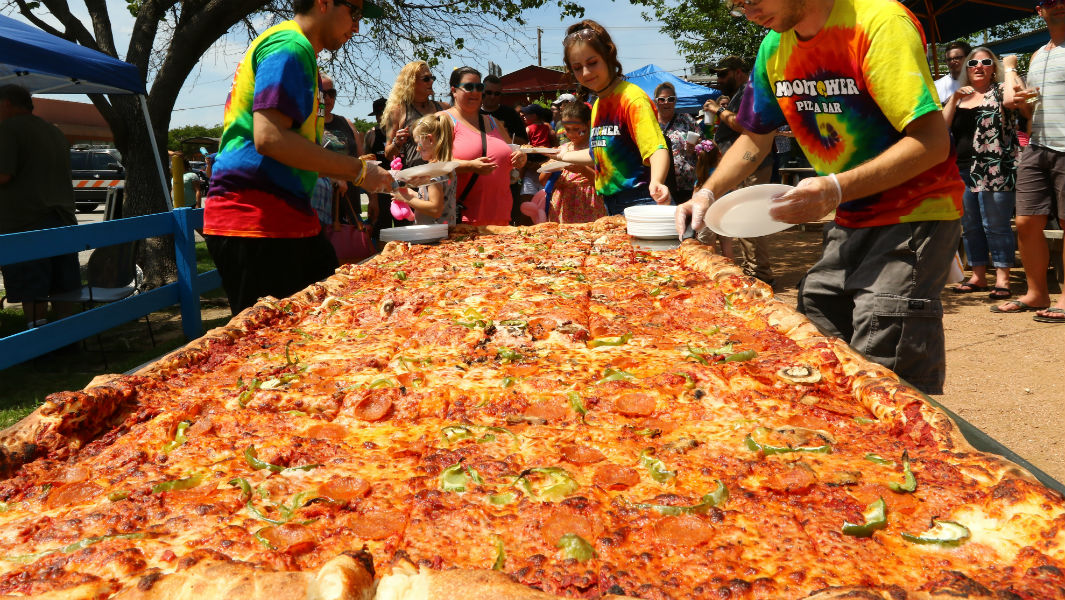 guinness pizza records