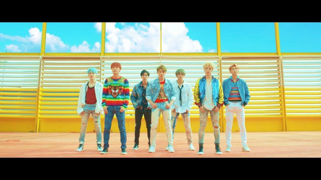 I BTS in un video musicale