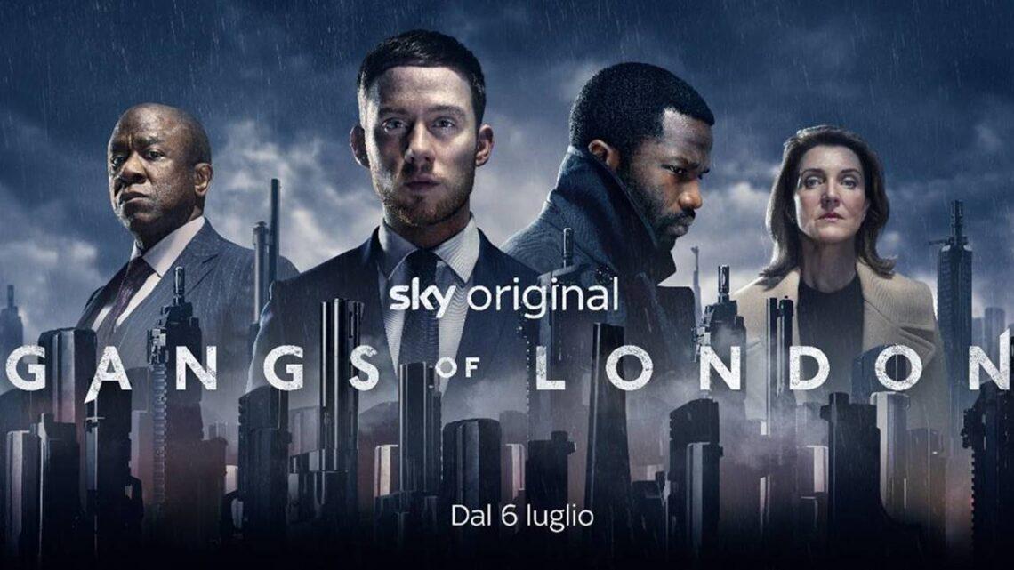 Gangs of London prima stagione su Sky Atlantic: anticipazioni trama e cast