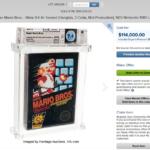Copia di Super Mario Bros venduta ad un prezzo folle, è record