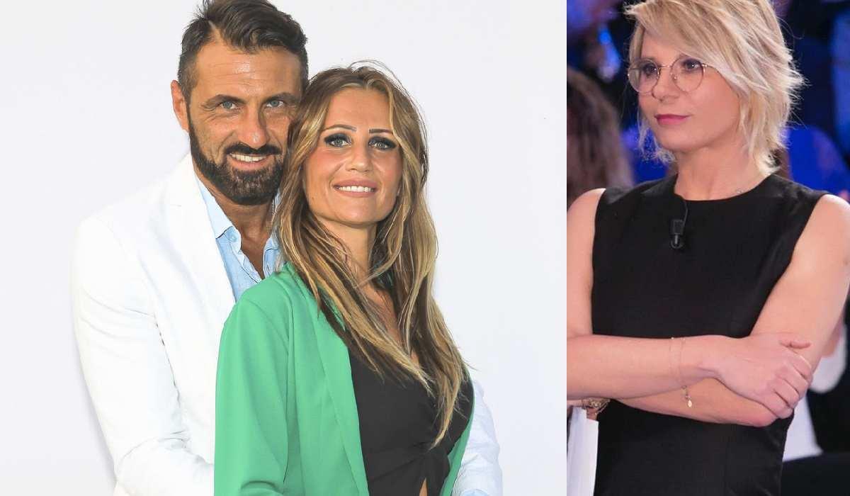 nozze Sossio Aruta e Ursula, Maria De Filippi