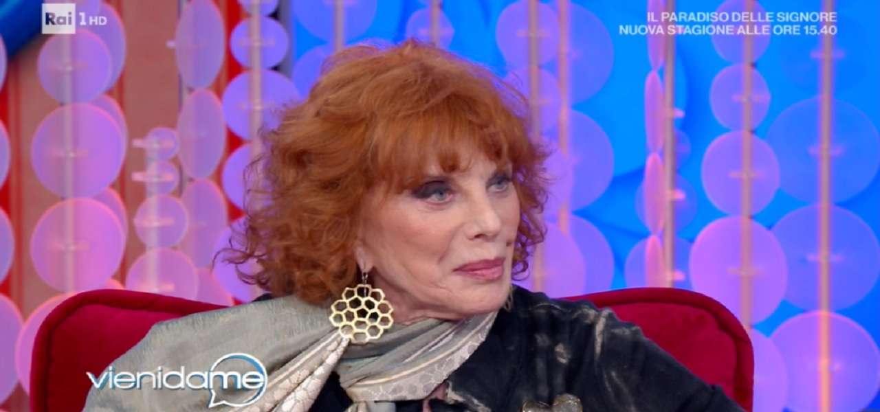 Simona Marchini a Vieni da Me