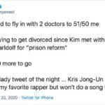 """Kanye West tweeta e poi rimuove: """"Ho provato a divorziare da Kim. Mia suocera è una suprematista bianca"""""""