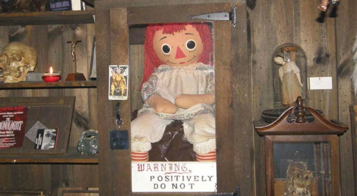 Annabelle, la bambola stregata