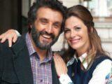 Flavio Insinna e Vanessa Incontrada in La classe degli asini